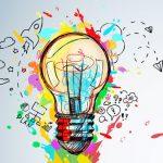 Arc-en-Sed-idée ampoule